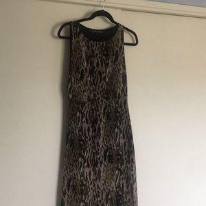 For love and lemons leopard print maxi dress